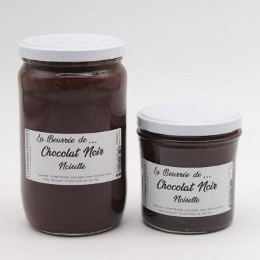 La Beurrée de ... Chocolat Noir Noisette