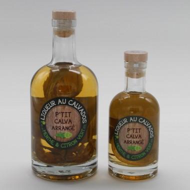 P'tit Calva Arrangé - Menthe & Citron Vert